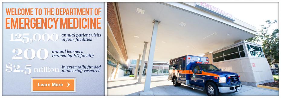 Department of Emergency Medicine » College of Medicine » University ...