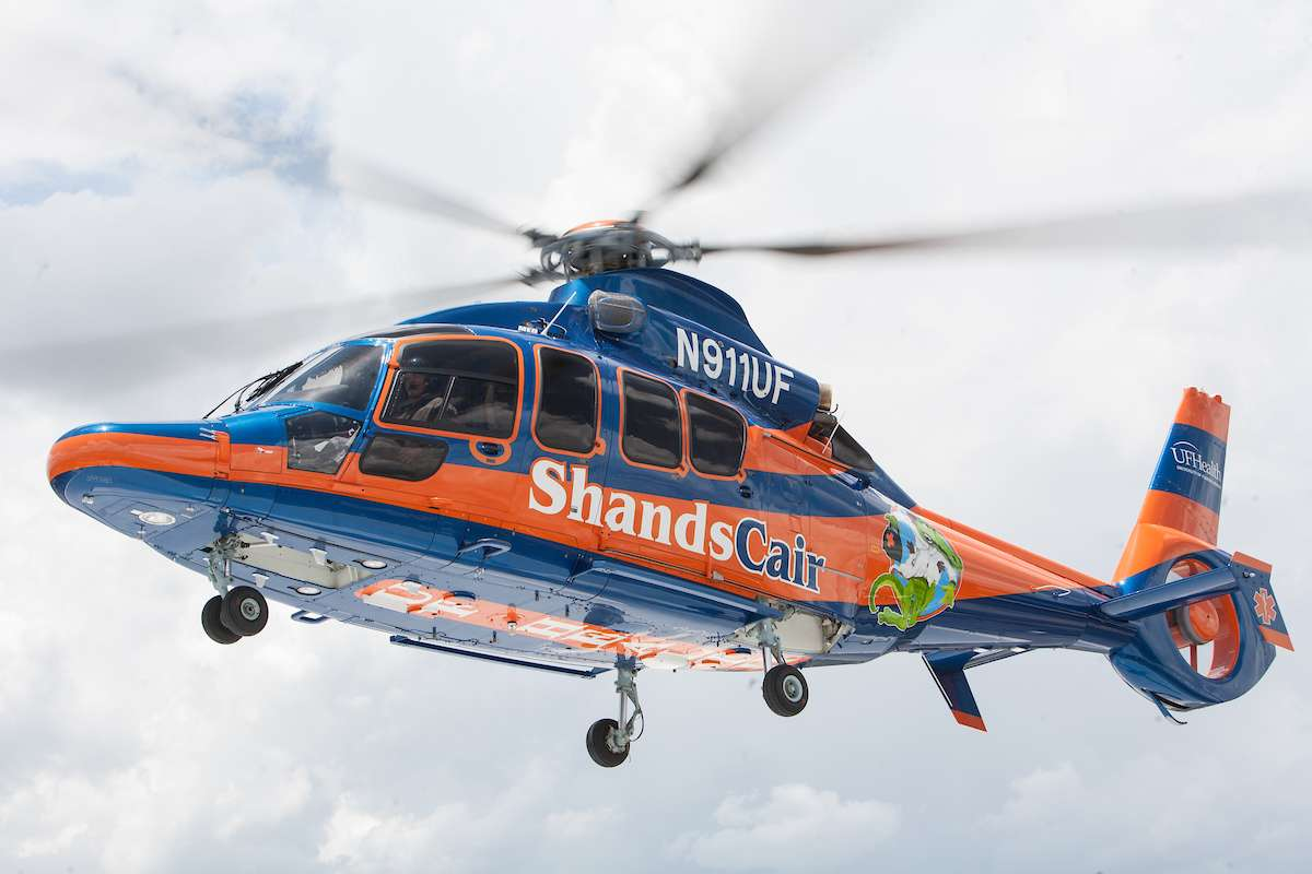 ShandsCair helicopter