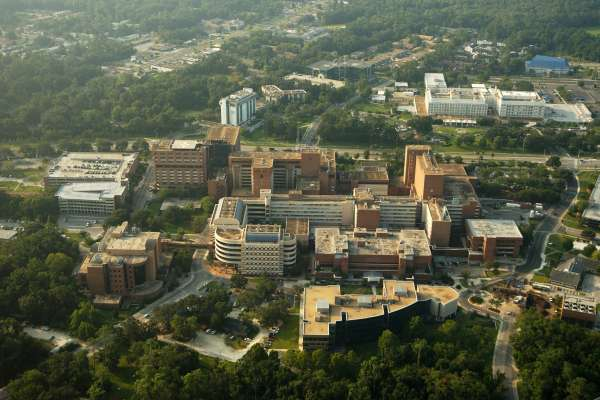 UF Health from the air